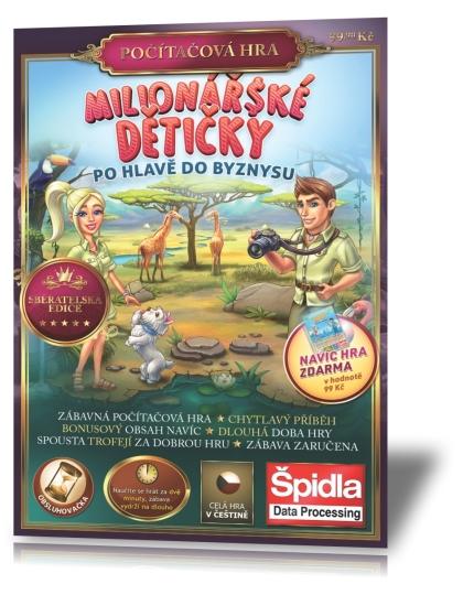 PRÁVĚ V TRAFIKÁCHMilionářské dětičky 2 - Po hlavě do byznysu - Sběratelská edice